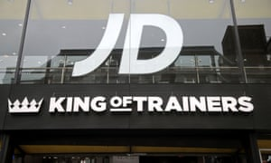 A branch of JD Sports on Oxford Street, central London.