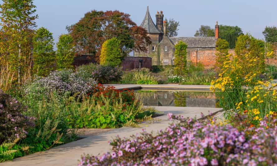 The Paradise Garden at RHS Garden Bridgewater. September 2020.The Paradise garden at RHS Garden Bridgewater