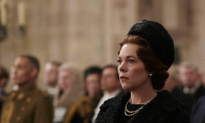 What a waste of a brilliant performer ... Olivia Colman in The Crown.