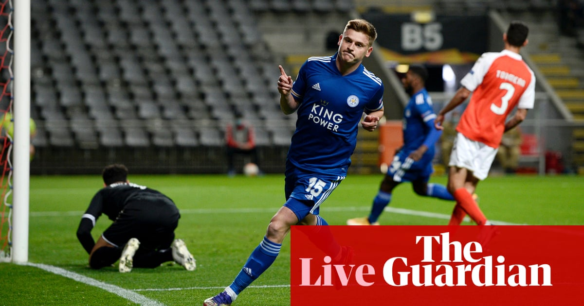 Europa League: Molde v Arsenal, Braga v Leicester, Sparta Prague v Celtic and more – live! - the guardian