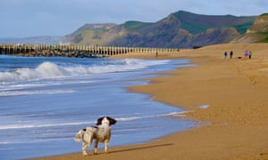 The beach at West Bay, Dorset