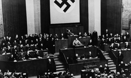 Chancellor Adolf Hitler in Berlin on 24 March 1933