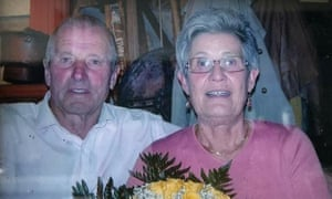 Luigi Carrara, 86, and Severa Belotti, 82