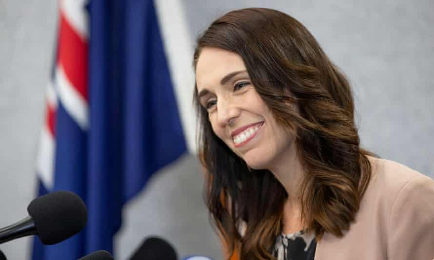 Jacinda Ardern says New Zealanders should replace greetings with the 'east coast wave'.