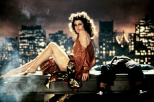 Actor Sigourney Weaver in the 1984 film Ghostbusters