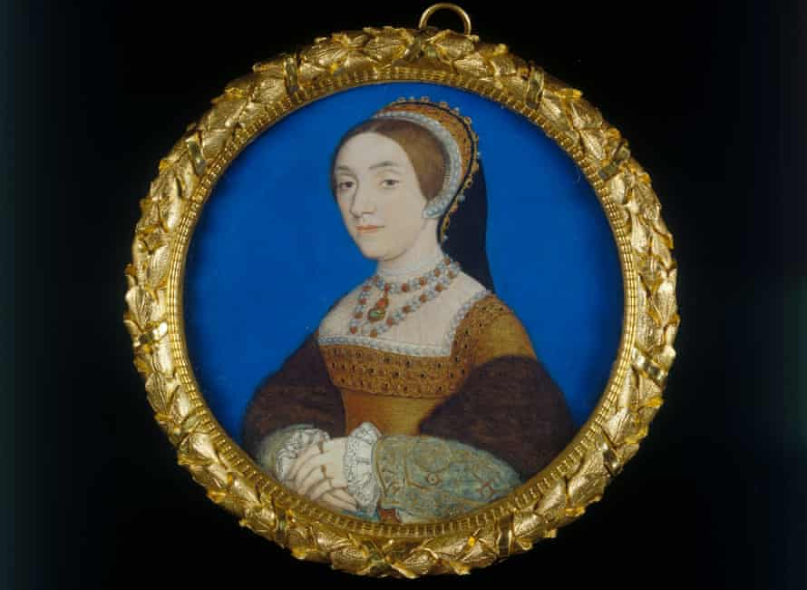 Portrait of a Lady, perhaps Catherine Howard by Hans Holbein.