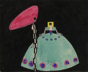 Best dress … Eduard Josef Wimmer-Wisgrill's Design for Maskenspiele (Masquerades).