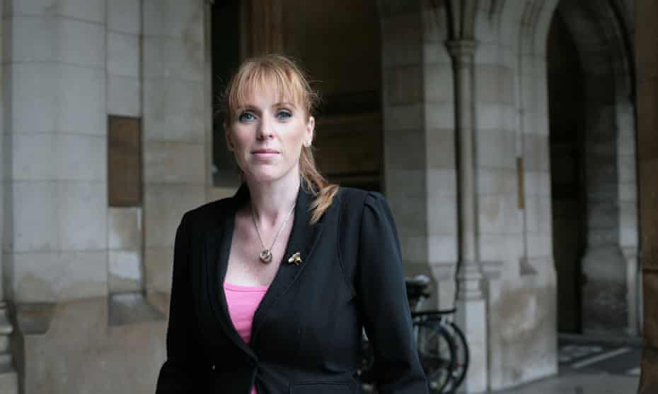 Angela Rayner at the Commons