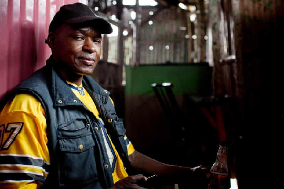 Tom Aduda owns and runs a successful hotel known as Dreams in Kibera