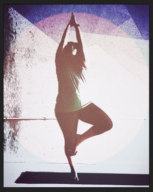 Stacey Sampson runs Fat Girl Yoga in Spokane, Washington