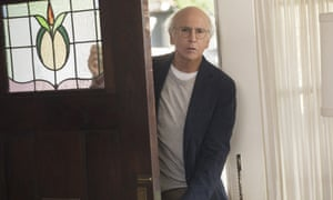 Larry David in Curb … back after six years away.