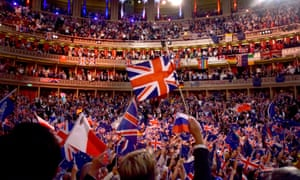 Last Night of the Proms at the Royal Albert Hall in 2018