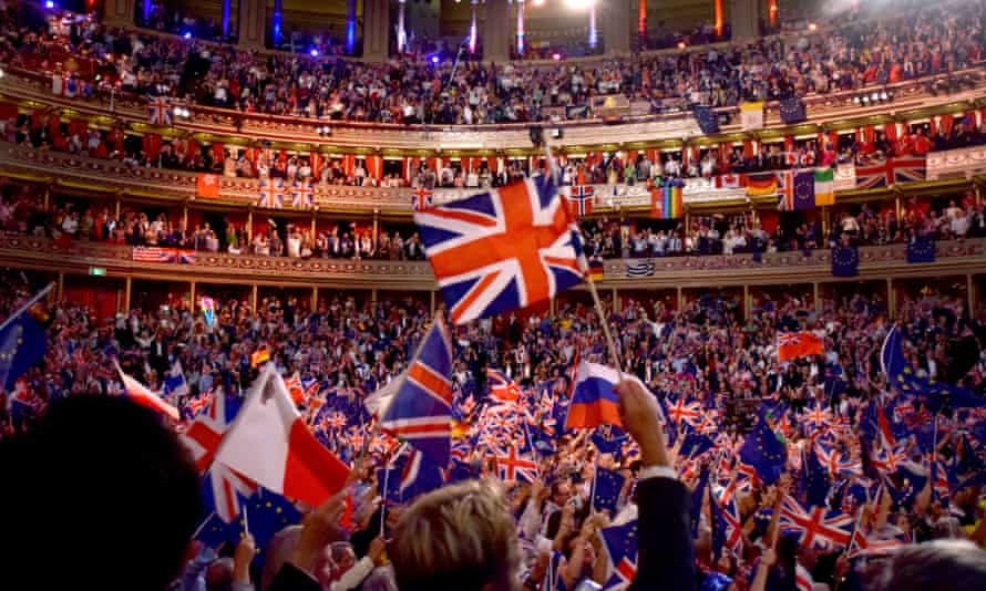 The Last Night of the Proms in London in September 2018.