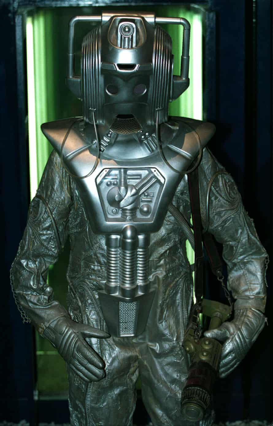 A proper 1980s Cyberman, ready to destroy the ones from the TARDIS, or wipe out all life on Earth.