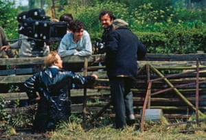 Garrow Shand and Peter Hall with crew