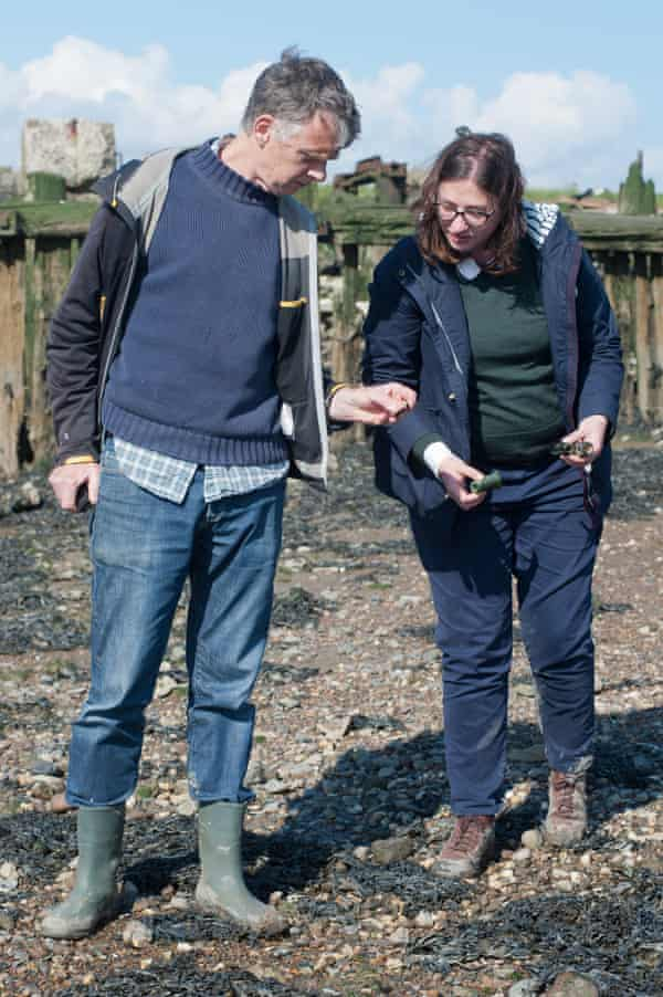 Caroline Crampton and Sam Wollaston go mudlarking