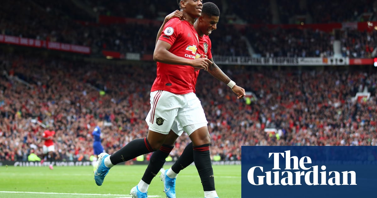 Martial and Rashford reward Solskjær's Manchester United rejig | Jamie Jackson