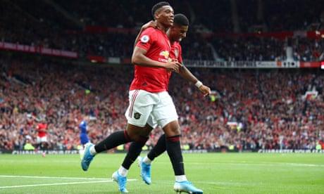 Martial and Rashford reward Solskjær's Manchester United rejig