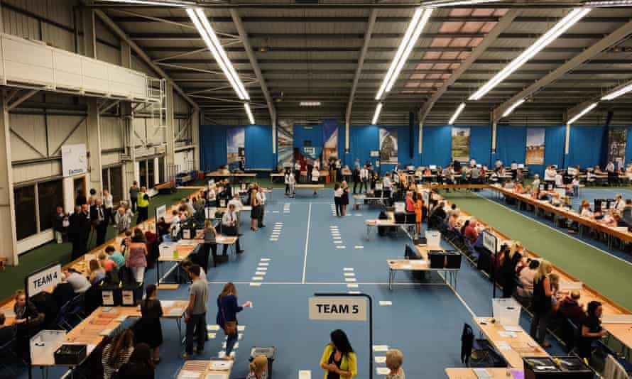 Final preparations for the Sunderland count
