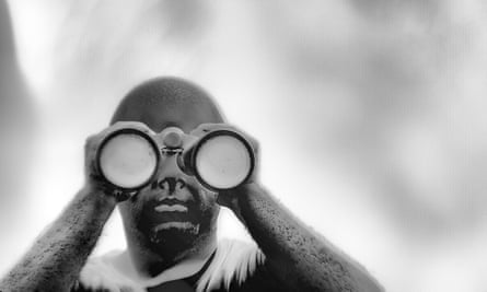 A still from Incoming by Richard Mosse.