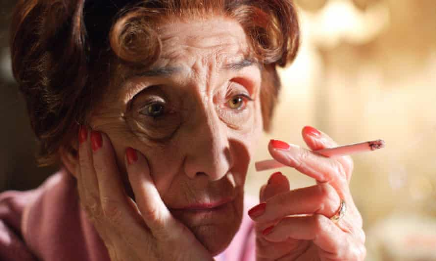 'A miserable old bag, quoting from the Bible' … June Brown as Dot Cotton.