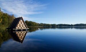 Stedsans cabin site on Lake Halla, Sweden Cool Stays