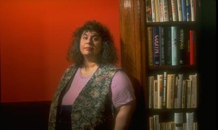 Feminist writer Andrea Dworkin.