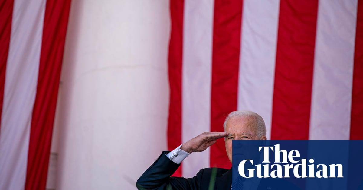 Biden warns US democracy 'in peril' as he commemorates America's war dead