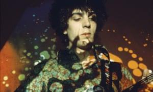 Ready for a seance … Syd Barrett, co-founder of Pink Floyd.
