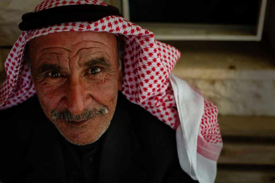 Khalaf, 64, came to Lebanon with his two wives and nine children to escape the Syrian war