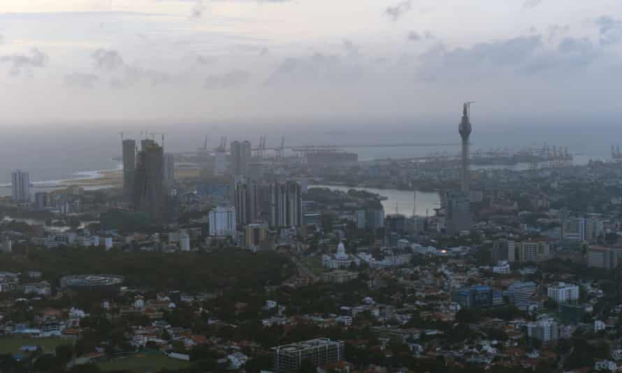 Sri Lanka's capital, Colombo