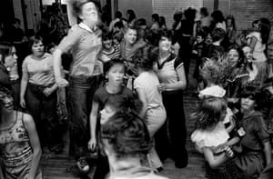 Community centre disco, Catholic West Belfast, 1978