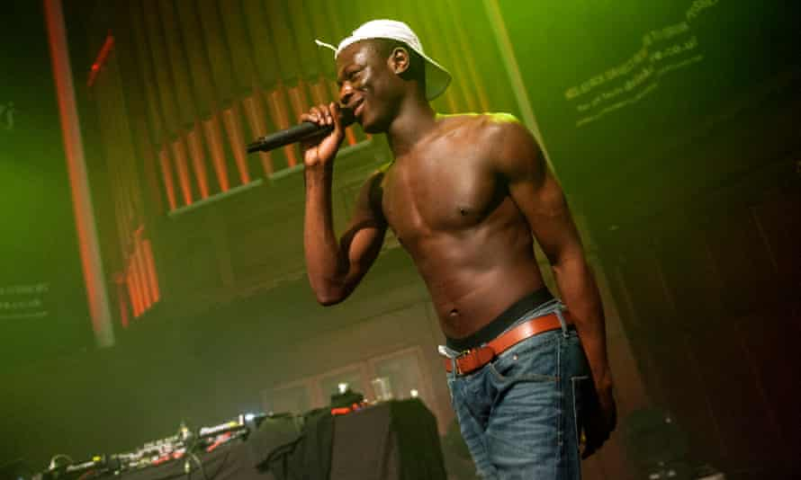 J Hus performing in Glasgow in May 2017