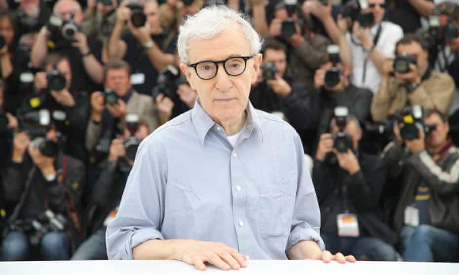 Woody Allen at Cannes film festival