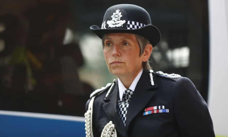 The Met police commissioner, Cressida Dick