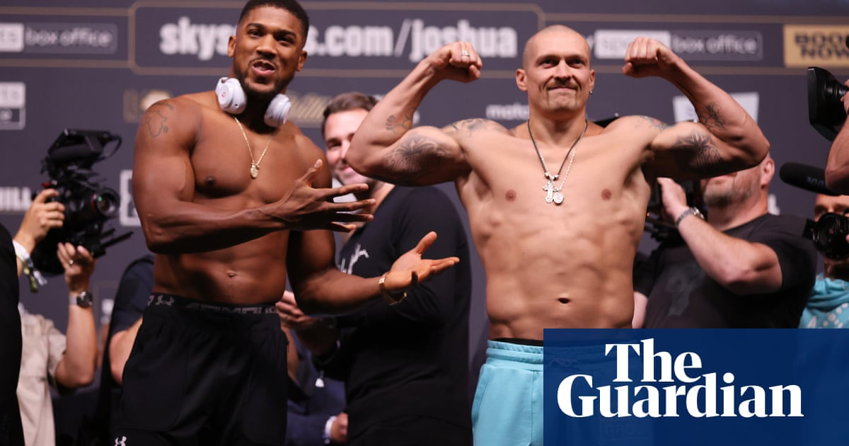 Anthony Joshua stirred by local clubland memories before Usyk test