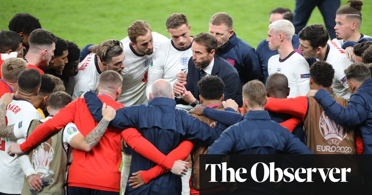 The Observer view on Gareth Southgate's England football team