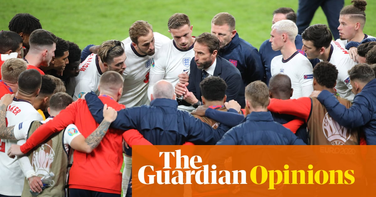 Win or lose on Sunday, England have given us something to be proud of