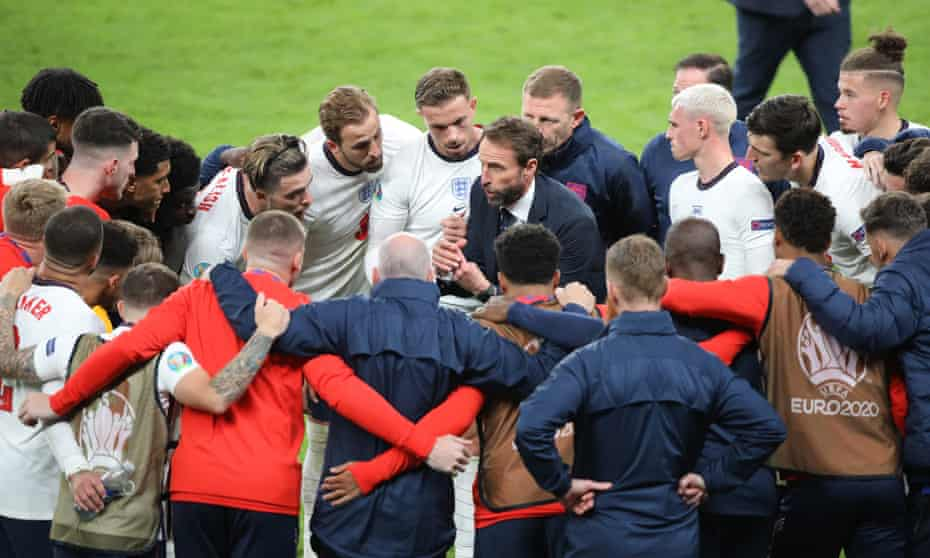 'In an era when our politicians have shown themselves to be inept, amoral and hypocritical, these young men have proved to be genuine role models for us all.' England v Denmark Euro 2020 semifinal, 7 July 2021.