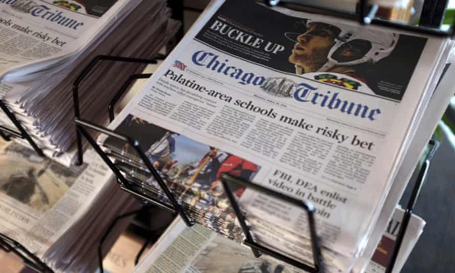 Fears for future of American journalism as hedge funds flex power