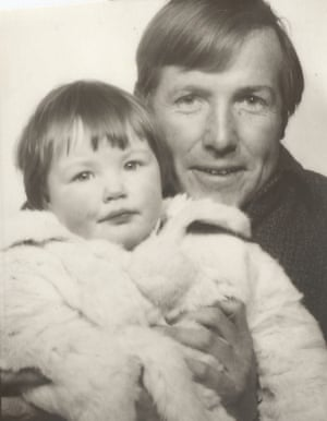 Miranda Doyle with her father