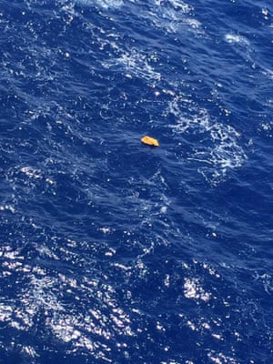 It has not been confirmed if the object is from flight MS804.