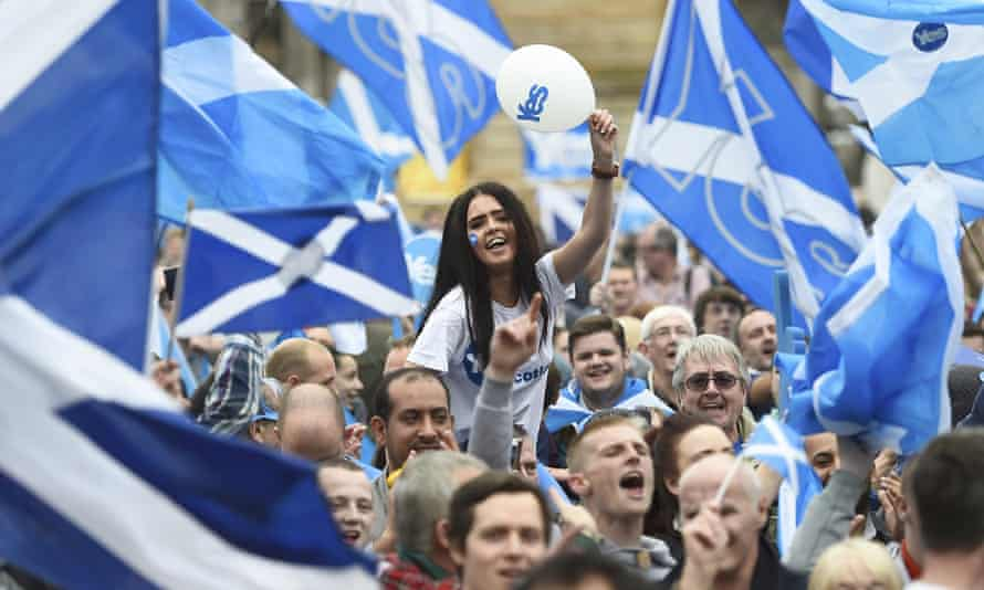 Nicola Sturgeon indicated Scotland could demand referendum if Cameron does not agree to more powers for Holyrood.