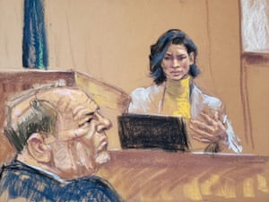 Witness Tarale Wulff testifies during Harvey Weinstein's sexual assault trial on 29 January.