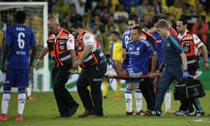 John Terry's injury, at a time where Chelsea led 1-0, overshadowed their resounding win against a substandard Maccabi Tel Aviv in the Champions League.