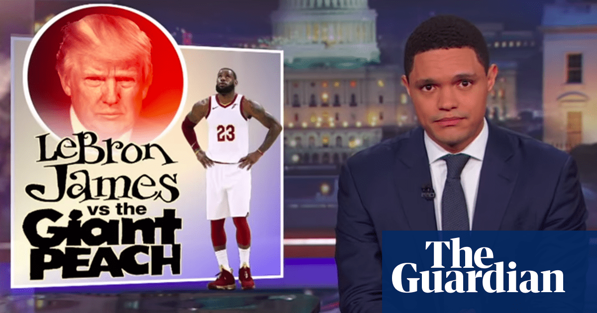 Trevor Noah: 'Trump gets a vacation, but we don't get a vacation from him'