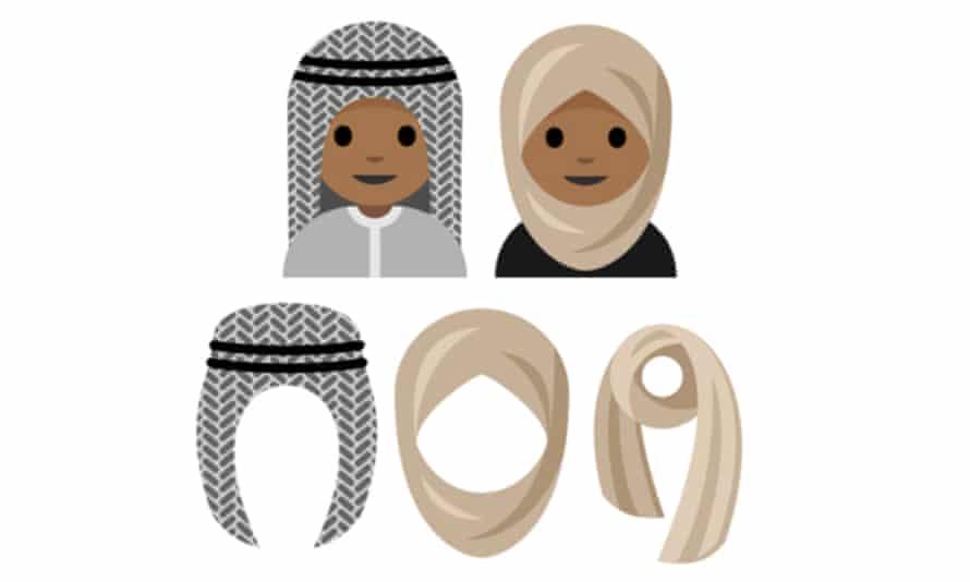 The headscarf emoji was proposed by 15-year-old Saudi girl Rayouf Alhumedhi.