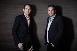 Ian and Joe Syer, co-founders, MyArtBroker.