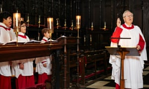 'We always finish with O, Come All Ye Faithful and Hark! The Heralds Angels Sing' … Stephen Cleobury.