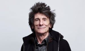 Ronnie Wood photographed in London last month for the New Review.